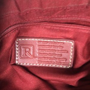 Relic Bags - Relic Maroon Canvas & Leather Bag    SB29
